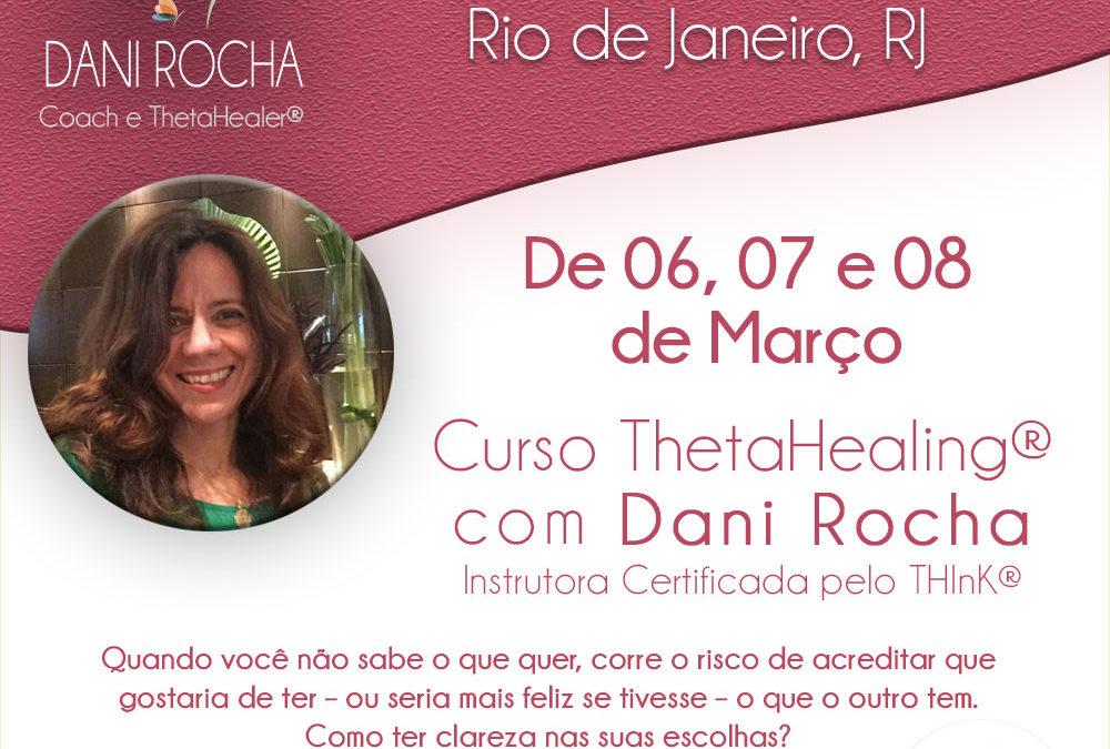 Curso ThetaHealing® – DNA AVANÇADO – Rio de Janeiro