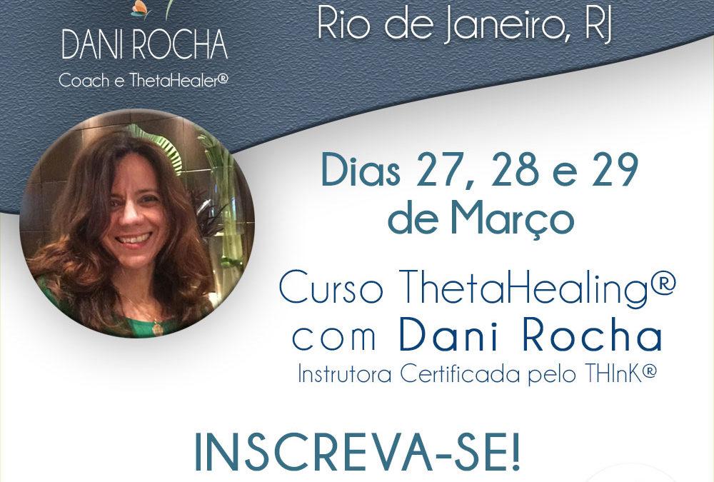 Curso ThetaHealing®- DNA BÁSICO – Rio de Janeiro