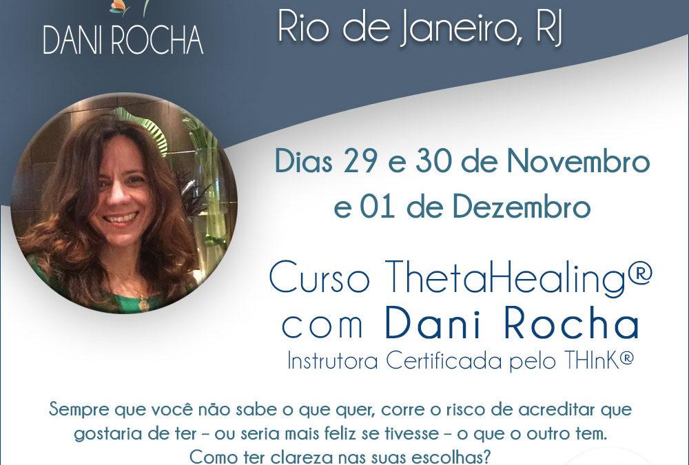 Curso ThetaHealing® – Rio de Janeiro