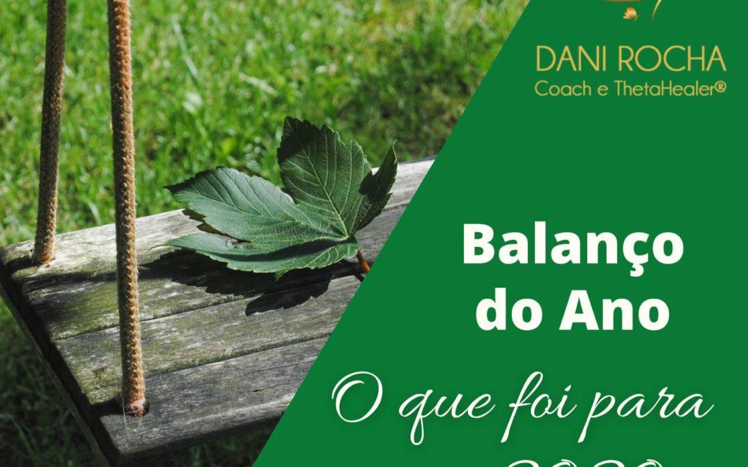 BALANÇO DO ANO